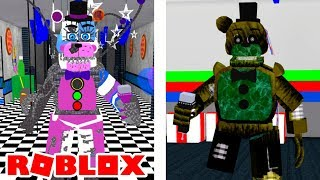 How To Get Phantom Freddy Badge and Scrap Funtime Freddy Badge in Roblox Five Nights At Freddy's 2