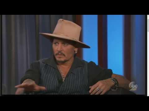 Johnny Depp Interview on Jimmy Kimmel Live