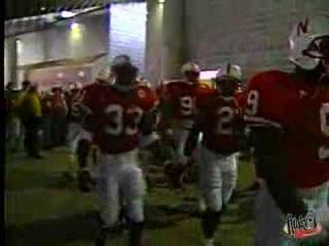 1995 Huskers tunnel walk