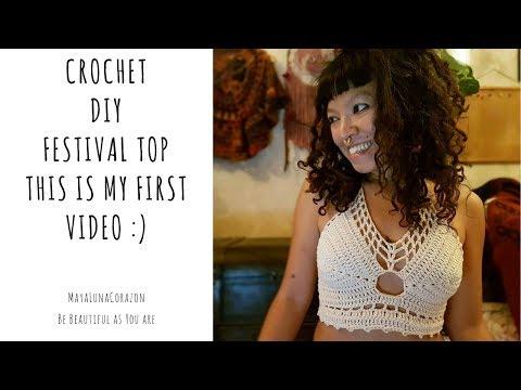 DIY Crochet Festival top (tutorial)