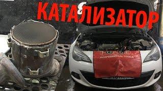 Opel Astra GTC 1.4 Turbo удаление катализатора, двойной выхлоп [PG]