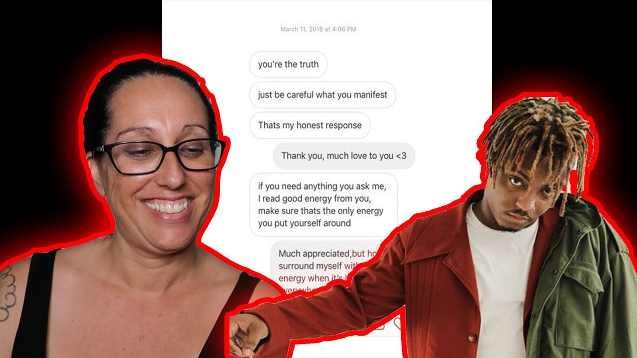 Mom REACTS to Juice WRLD - Legends & Rich And Blind - YouTube