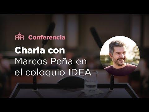El Jefe de Gabinete Marcos Peña participó del 53° coloquio empresarial de IDEA