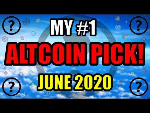 My #1 Altcoin Pick In June 2020 | New Celebrity Gets Into Bitcoin & Ethereum! [Crypto News/Opinion]