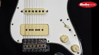 【IKEBE channel】試奏&解説:Fender Custom Shop 1960 Stratocaster Relic Black/MH with Seymour Duncan P-90