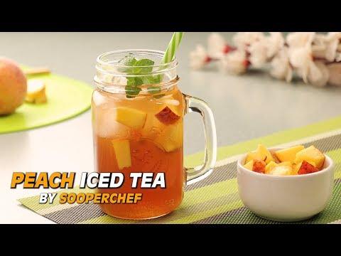 Peach Iced Tea Recipe By SooperChef