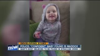 Police find body of missing baby girl