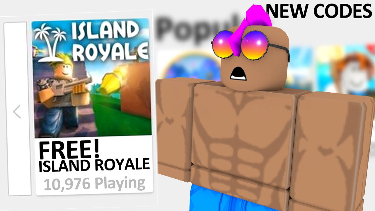 ISLAND ROYALE ON ROBLOX IS OFFICIALLY FREE 🌴🎊🎉 (NEW FREE ...