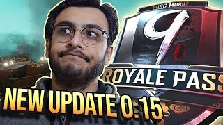 PUBG MOBILE LIVE: 0.15 NEW UPDATE, NEW GUN, FLARE DROP | RAWKNEE