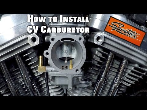 How To Install Sportster Carburetor Youtube