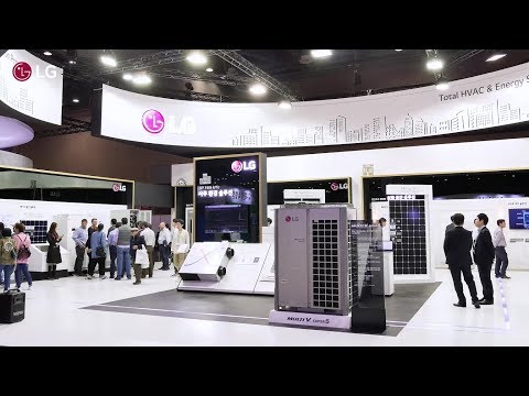 LG Booth Sketch @ Korea Energy Show 2018