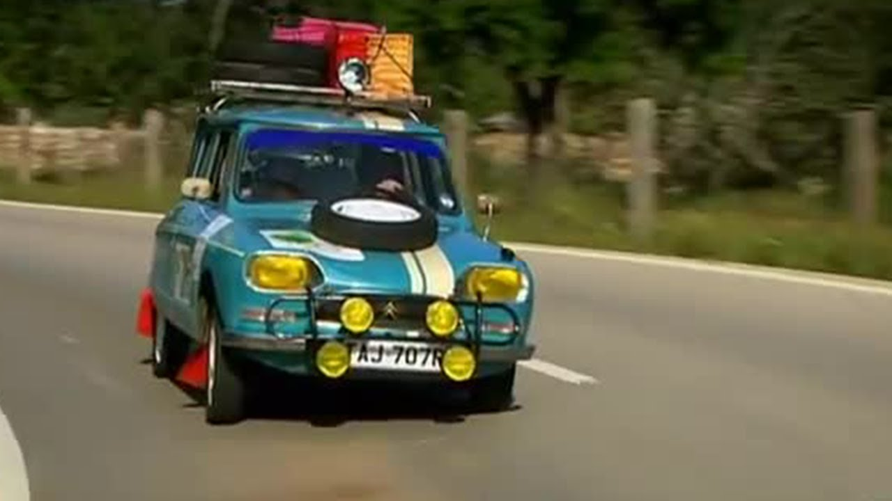 Classic Car Rally Challenge Day  Top Gear Bbc