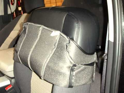 Clazzio Seat Cover Installation For Dodge RAM1500