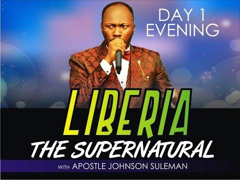 The Supernatural - Monrovia, Liberia - Day 1 Evening.