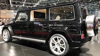 Гелик (G 63), удлиненный на 75 см!) Карбоновый SLR, TESLA, Mercedes-AMG GT S, McLaren - FAB DESIGN!)