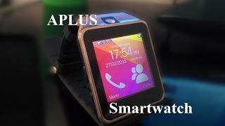 APLUS Smartwatch : Galaxy gear copy ( FR Review )