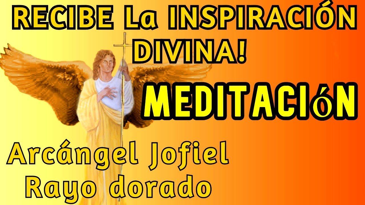 RECIBE la CHISPA DIVINA MEDITACION con ARCANGEL JOFIEL 💛RAYO DORADO💛