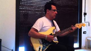 "Fairouz ""La Inta Habibi"" (لا انت حبيبي ولا ربينا سوا) - by Ahmad Chaaban on Electric Guitar"