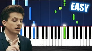 Download Lagu Charlie Puth - How Long - EASY Piano Tutorial by PlutaX Mp3