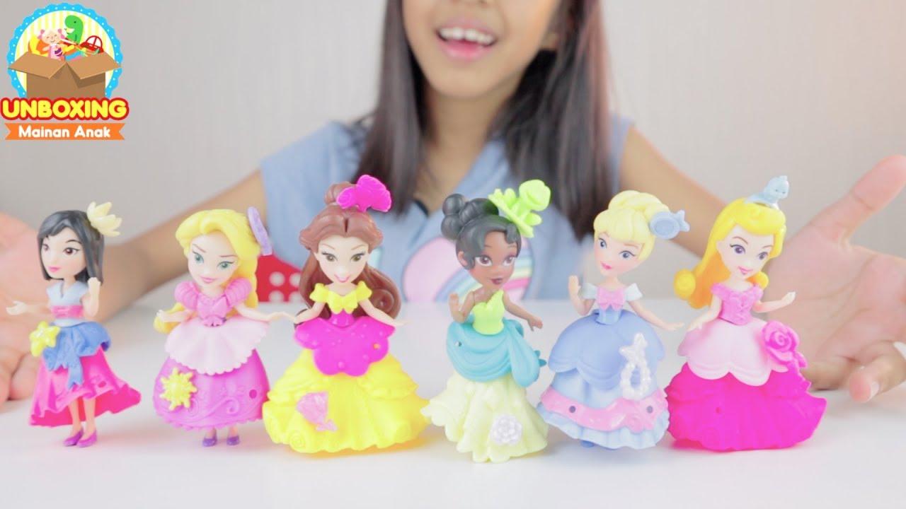Unboxing Mainan Disney Princess  735548fe05
