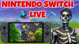 Fortnite Nintendo Switch LIVESTREAM! (Skull Trooper Is BACK!)