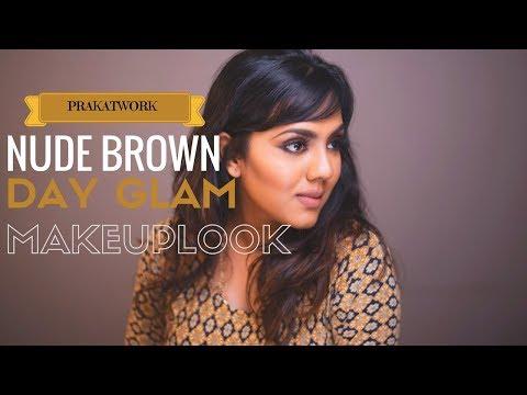 ♡ Nude Brown | Easy Day GLAM | Makeup Look | Indian / Brown / Tan Skin♡