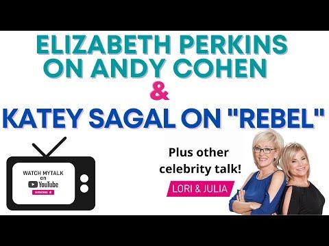 "Elizabeth Perkins on Andy Cohen and Katey Sagal on ""Rebel"" - Lori & Julia Talk Celebrities"