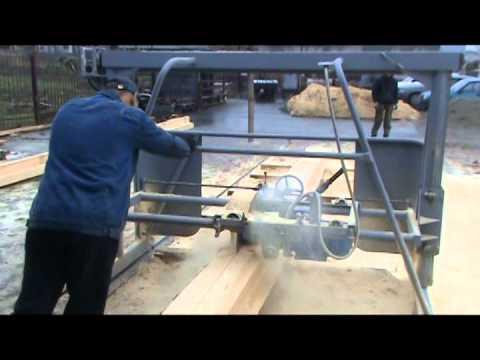 Поворотная угловая пилорама своими руками 144
