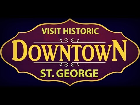 St. George, Utah - downtown