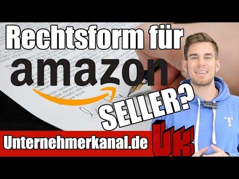 [Live Q&A] Die beste Rechtsform für dein Amazon FBA Business? Einzelunternehmer, UG & GmbH Gründung