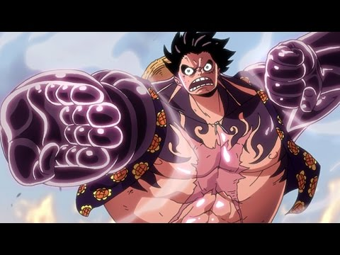 Luffy [Gear 4] vs Doflamingo - ♪Breaking Trough♪