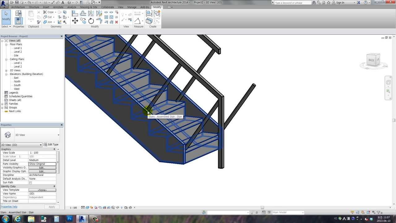 Revit Tips - Baluster - perpendicular to the pitch line ...