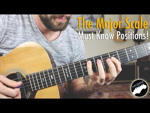 Major Scale in Three Must Know Positions!