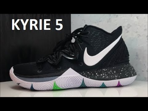 438dac6d2cff4 NIKE KYRIE IRVING 5 BLACK MAGIC SNEAKER DETAILED REVIEW - WATCH BEFORE YOU  BUY!  KyrieIrving