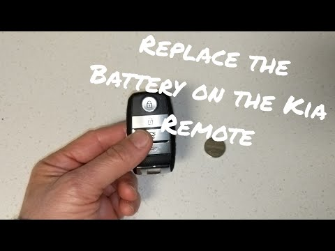 How To Replace The Battery On The Kia Optima Remote
