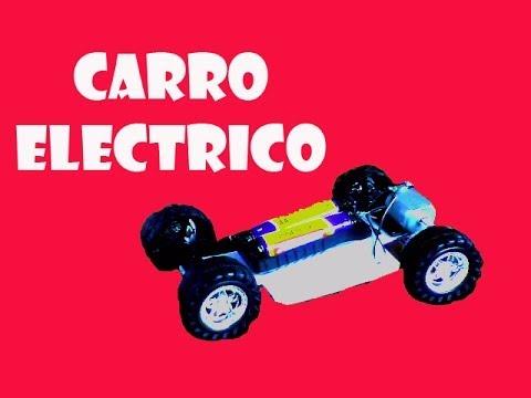 ★ Cómo Hacer un Carro eléctrico sencillo ★