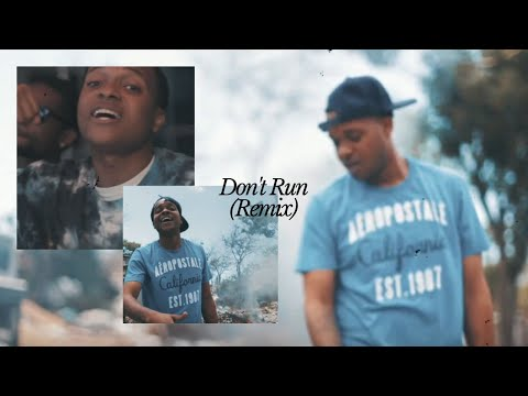 Duckie MrPoetry - Don't Run (Remix) (Official Video)