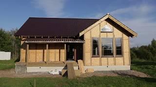 Строительство правильного каркасного дома. Часть 6 установка окон, окончание работ