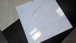 КГ9996 - керамогранит белый мрамор 60*60, БалтПромКерамика Санкт-Петербург