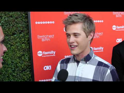 "Lucas Grabeel Interview - ""Switched at Birth"" Book Release"