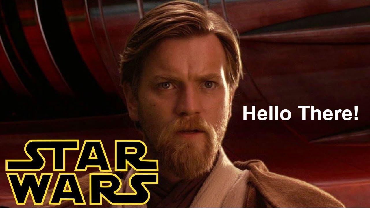 STAR WARS Warum sagt OBI WAN eigentlich ,,HELLO THERE