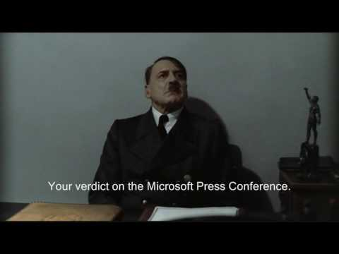 Hitler Reviews: Microsoft E3 2009 Press Conference