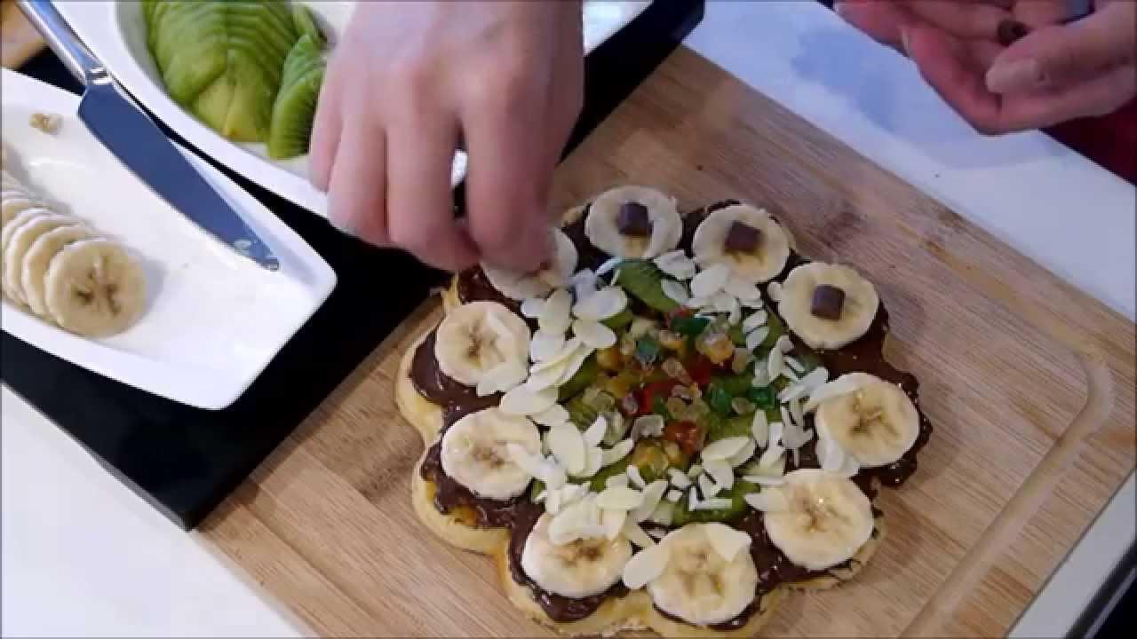 Evde Waffle Yapılışı Video