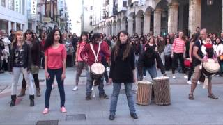 FlashMob Burgos por el Comercio Justo