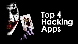 Top 4 illegal HACKING APPLICATION