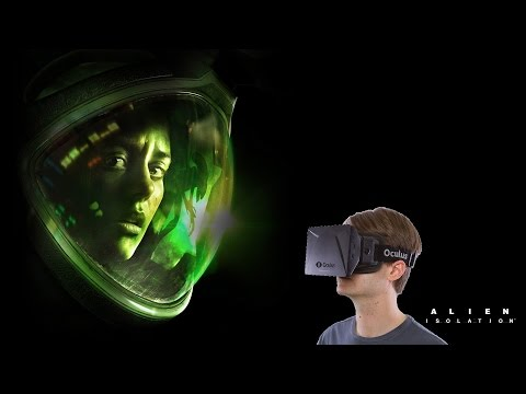 Charles Plays Alien: Isolation | Oculus Rift DK2 | Part 1 and How-To
