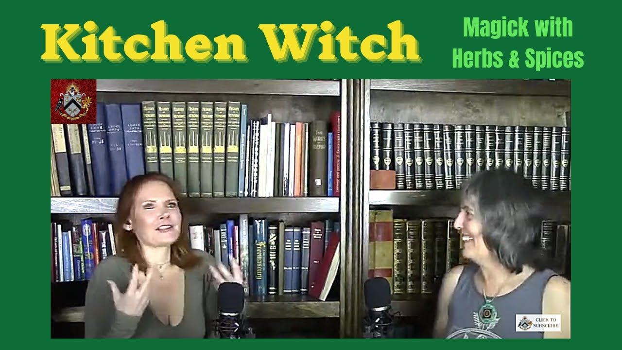 Sixth Sense Society - Episode 5: Kitchen Witch - Magic With Herbs