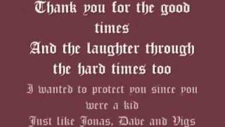 Wisdom In Chains - Back to the ocean lyrics