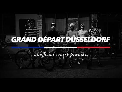 GRAND DÉPART DÜSSELDORF - Unofficial Course Preview (Tour De France 2017)