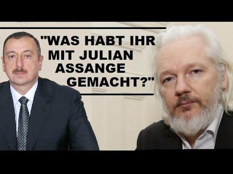 """""""Was hab ihr mit Julian Assange gemacht?"""" Präsident Aliyev irritiert BBC-Reporterin"""